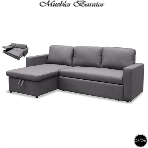 Sofa Bed Chaise Longue Ref-108