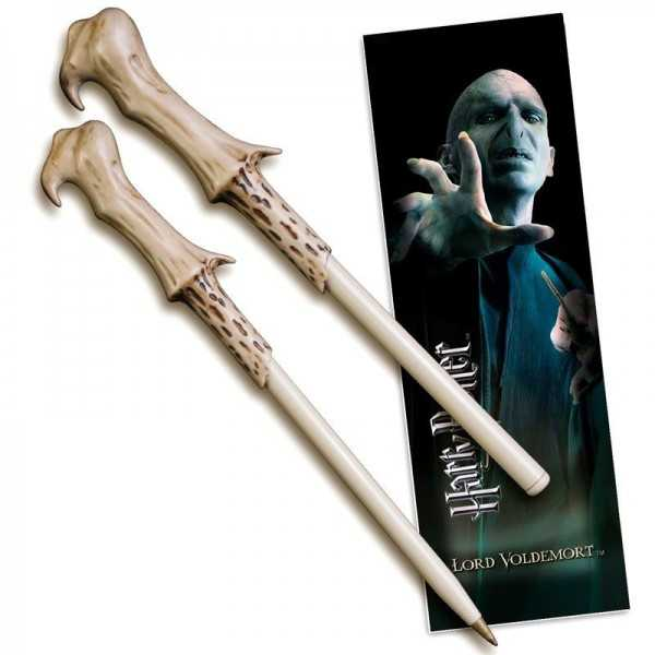 Harry Potter wand pen and bookmarks Voldemort Figurines & Miniatures  - AliExpress