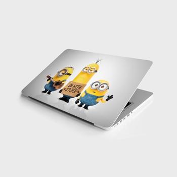 Sticker Master Minions Laptop 3 Universal Sticker Laptop Vinyl Sticker Skin Cover For 10 12 13 14 15.4 15.6 16 17 19