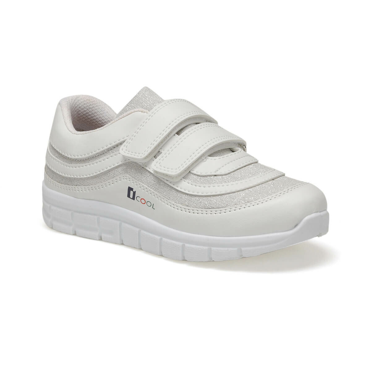 FLO PASSION White Female Child Sneaker Shoes I-Cool