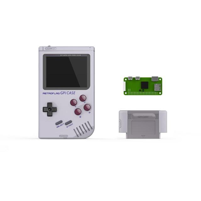 In Stock!Retroflag GPi CASE for Raspberry Pi Zero or Zero W with Safe Shutdown Handheld Game Console Pre-install 7000+ Games