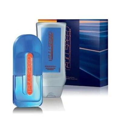 Avon Volle geschwindigkeit Nitro Geschenk Set 75 ml edt + 250 ml shampoo