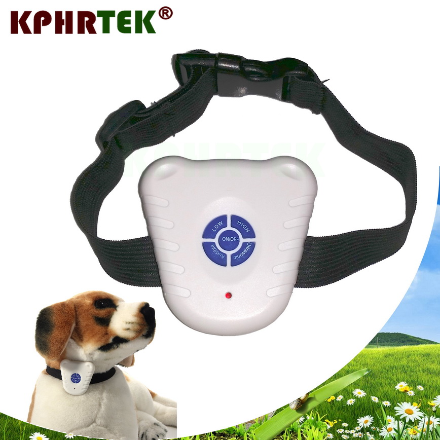 font b Pet b font Dog No Barking Stop Collar Ultrasonic Sound Anti Bark Training