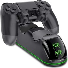 Playstation 4 PS4 Stazione del Caricatore Doppio Del Manicotto Sottile/pro Indicatore di Carica
