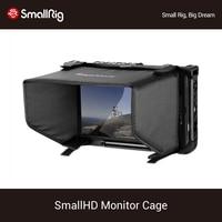 Jaula de Monitor SmallRig con parasol para SmallHD 700 Series 701Lite/702 Lite/702 Bright Monitor  jaula de pantalla + Kit de parasol 2131