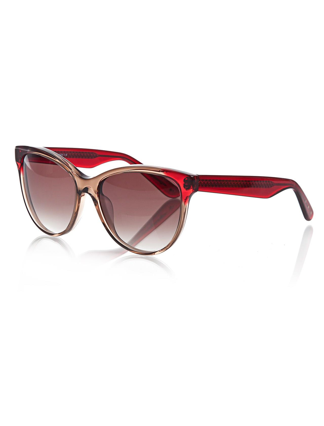 Women's sunglasses b.v 262/s 4ct 56 js bone Brown organic oval aval 56-17-140 bottega veneta