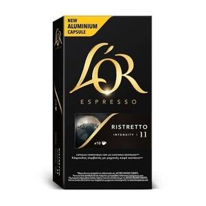 RISTRETTO L 'or, 10 compatible NESPRESSO aluminium capsules