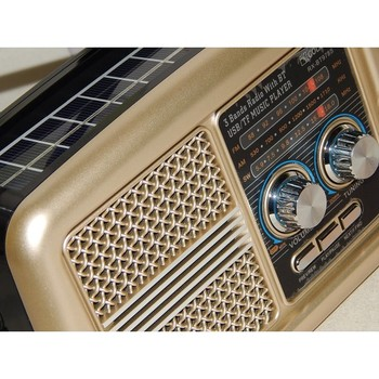TRANSISTOR RADIO AM/FM USB SANDLOT VINTAGE DECORATION