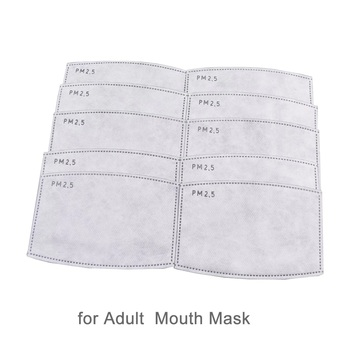 Active carbon filter for protection masks mouth face dust KN95 No hospital CGStore
