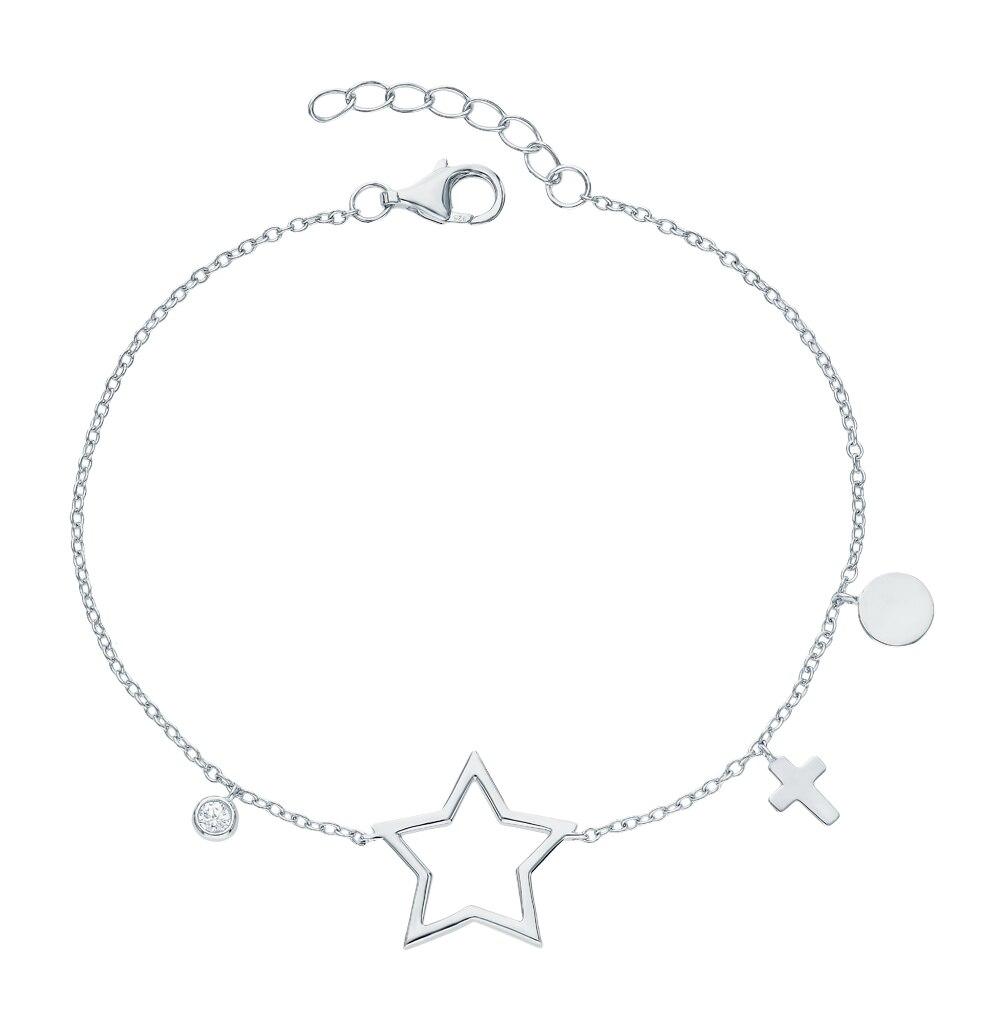 Silver Bracelet With Cubic Zirconia Sunlight Sample 925