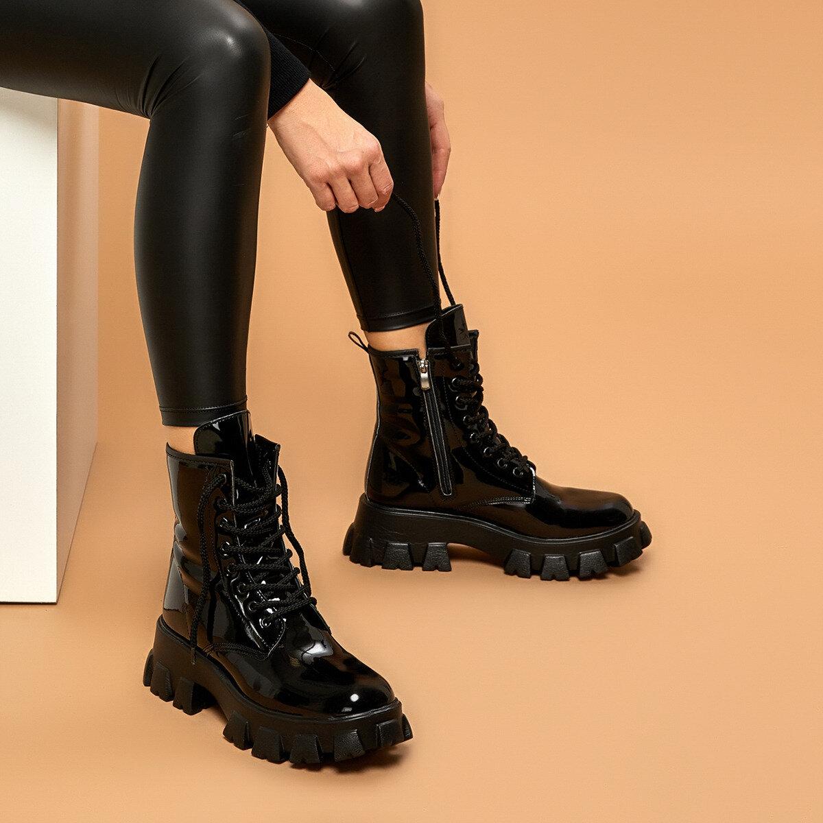 FLO 19SF-2060 Black Women Boots BUTIGO