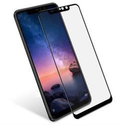 Xioami to 8 Lite czarny niezniszczalny szklany ochraniacz ekranu 5D
