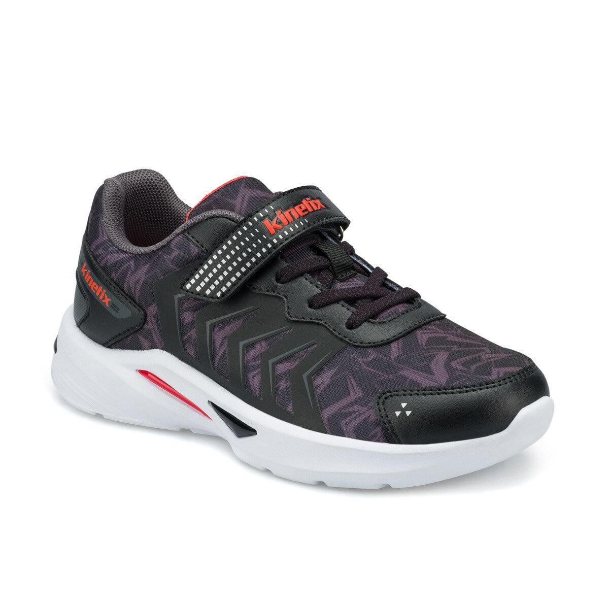 FLO REST Black Male Child Hiking Shoes KINETIX