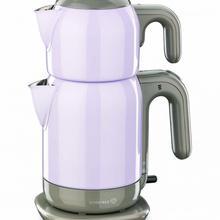 Korkmaz A369-03, сиреневый стальной чайник, Турецкий электрический чайник, чайник, машина, самовари, турецкий чайник, чайная урна
