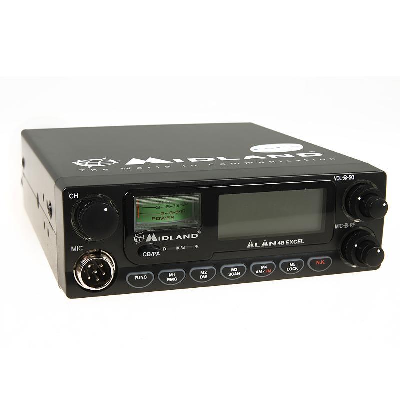 Radio Alan 48 Excel. Walkie Talkie 27 MHz. For дальнобойщиков (15)