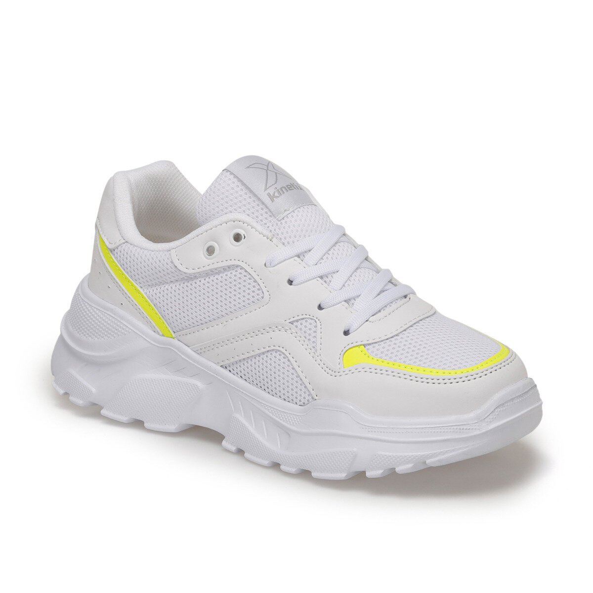 FLO PENTA W White Women 'S Sneaker Shoes KINETIX