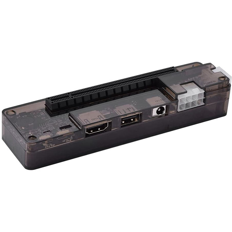 Mini PCI E MPCIE EXP GDC External Laptop graphics card Docking Station 8PIN 6PIN power interface for Laptop Video Cards