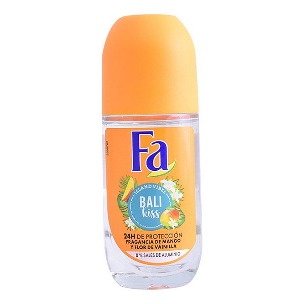 Roll-On Deodorant Bali Kiss Fa (50 Ml)