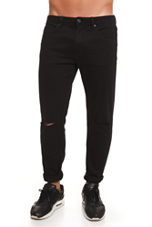 CR7 Jeans voor mannen kleur Zwart Jeans Casual Casual Super Skinny Slash zakken CRD036B