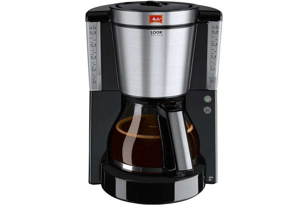 цены на Drip coffee maker Melitta Look IV DeLuxe, Black в интернет-магазинах