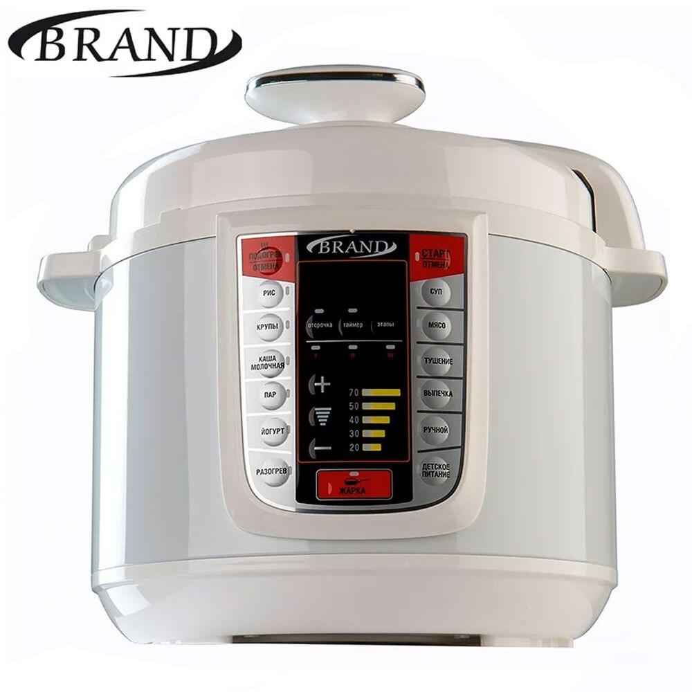 BRAND6051 autocuiseur électrique, 5L, cuiseur à riz rapide de cuisson Multivarka, contrôle numérique, multicuiseur