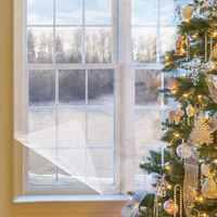 Комплект зимней термоусадочной изоляционной пленки 158X535-для окна внутри помещения термоусадочная пленка раздельный набор для экономии эне...