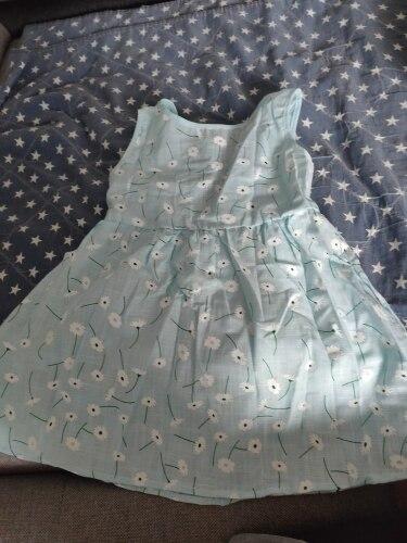 Summer Children Kids Girls Sleeveless Cotton Dresses Sundress Sarafan Cherry Print Backless Satin Band Dress Clothing summer girl dress dress girlgirls dress - AliExpress