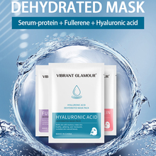Face Mask Fullerene Serum Protein Hyaluronic Acid Anti-aging Whitening moisturizing Skin Care
