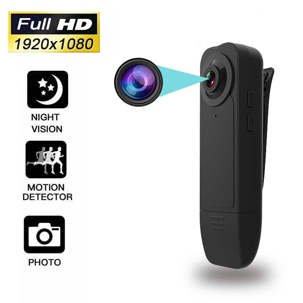 Videocámara Mini HD 2020 P con visión nocturna, detección de movimiento, pequeña cámara de seguridad para el hogar y el exterior, nueva de 1080