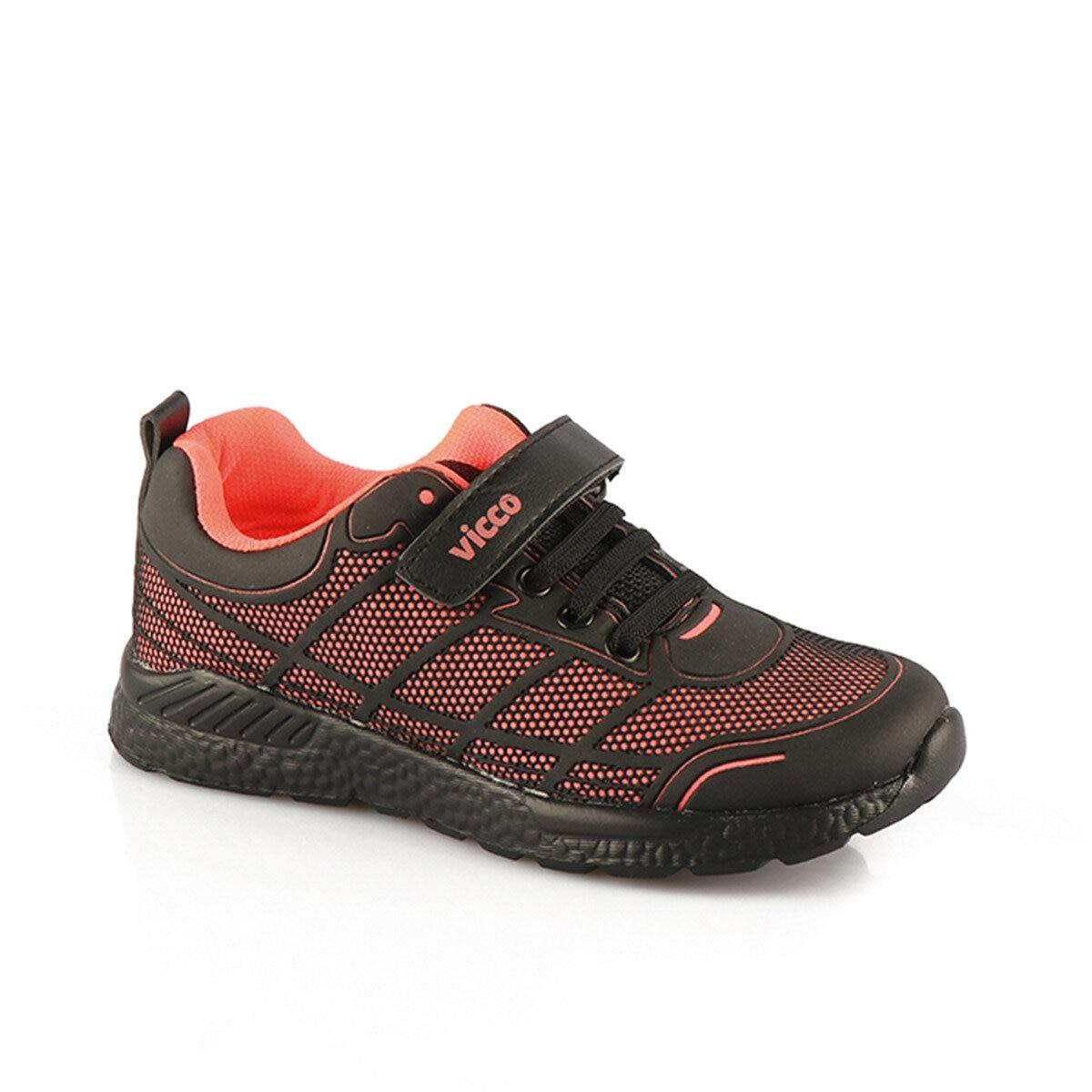 FLO 347.18K.123 Black Female Child Sneaker Shoes VICCO