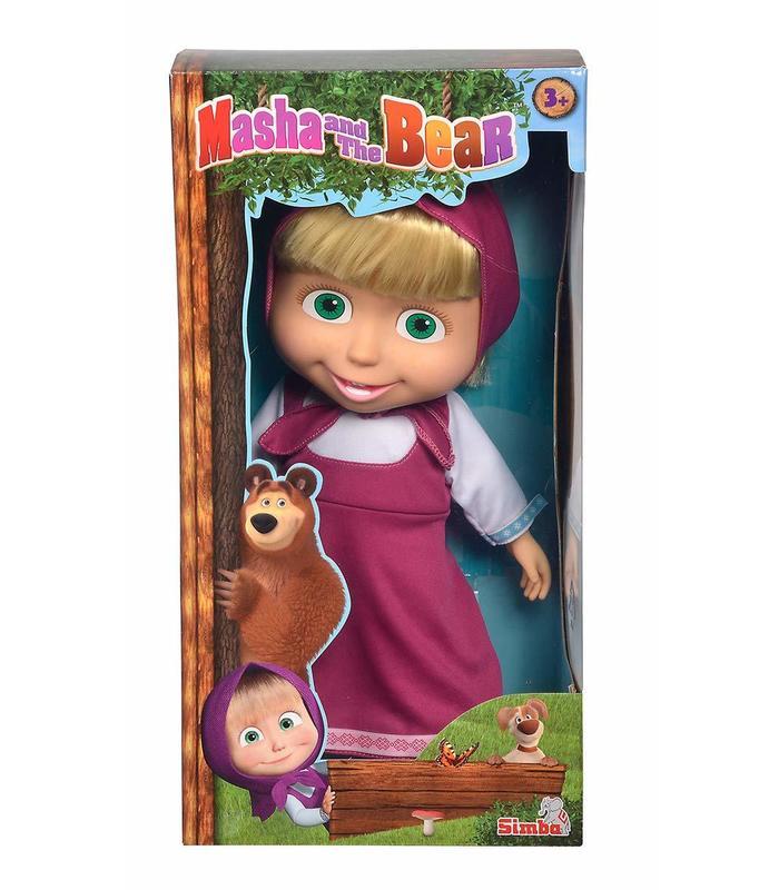 Masha And The Bear Masha 40 Cm Toy Store
