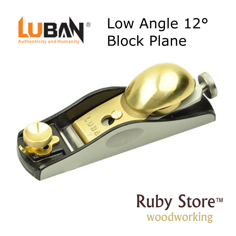 Qiangsheng Luban Low Angle 12° Block Hand Plane - Fine Woodworking Block  Plane
