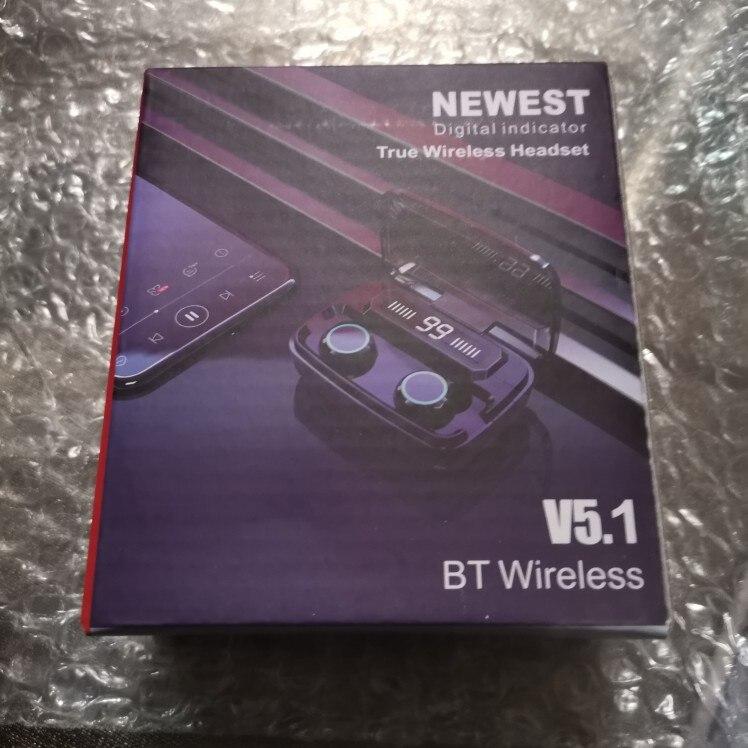 3500mAh Wireless Earphones Bluetooth Compatible V5.0 TWS Wireless Headphones LED Display With Power Bank Headset With Microphone|Bluetooth Earphones & Headphones|   - AliExpress
