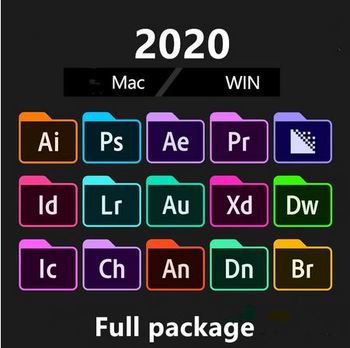 Full set of software installation package 2020cc Adobe Creative All-in-One x64 Multi-Language win/Mac