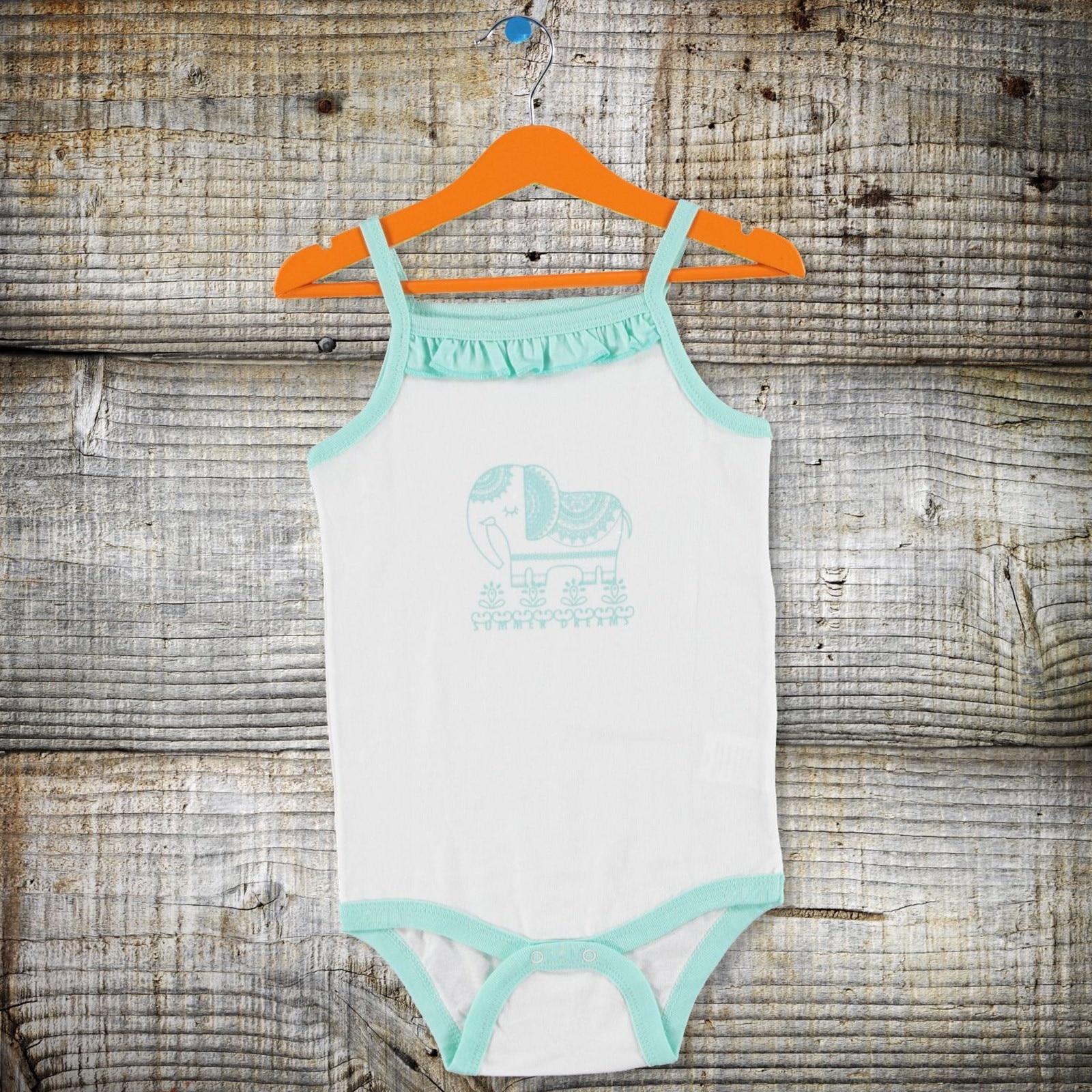Ebebek Aziz Bebe Sparrow Baby Girl Bodysuit