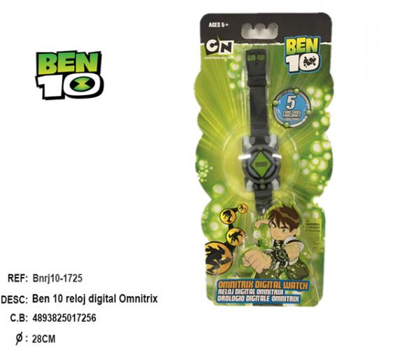 Digital Watch Ben10 Omnitrix (easy)