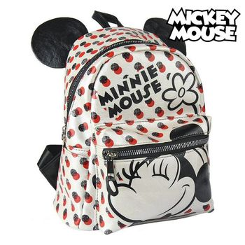 10000250240909 - Shop5790547 Store - Mochila Casual Minnie Mouse 72820 Blanco