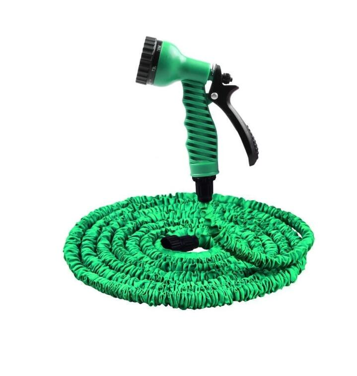 3 Times Expanded 25FT-100FT Garden Hose Expandable Magic Flexible Water Plastic Hoses Pipe With Spray Gun(China)