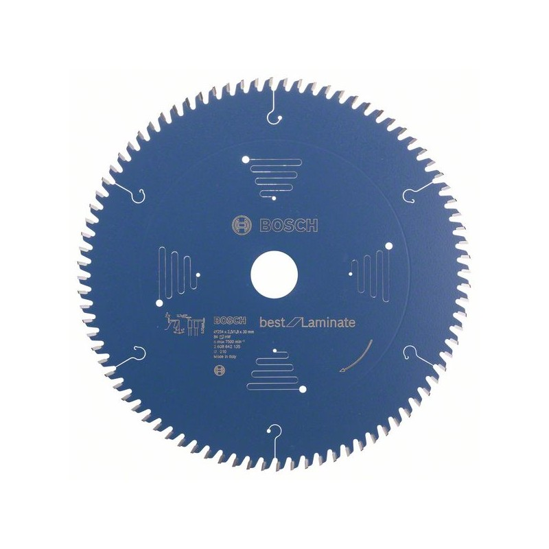 BOSCH-Hoja circulate saw Best for Laminate 254x30x2,5mm 84
