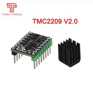 TMC2209 V2.0 Stepper Motor Driver TMC2208 UART Driver 2.8A 3D Printer Parts VS TMC2130 TMC5160 For SKR V1.3 mini E3