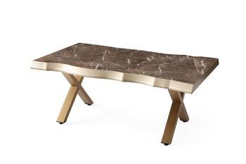 Kreatywny stolik kawowy stolik kawowy do salonu stolik kawowy stolik sofa oszczędność miejsca projekt mały stół antyczny złoty tanie i dobre opinie TR (pochodzenie) Meble do domu Meble do salonu