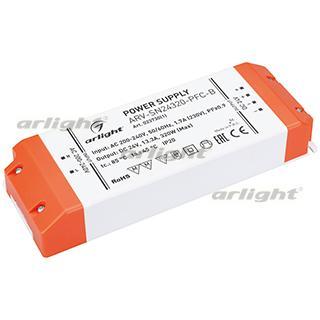 023730(1) Power Supply Arv-sn24320-pfc-b (24V, 13.3a, 320W) Arlight Box 1-piece