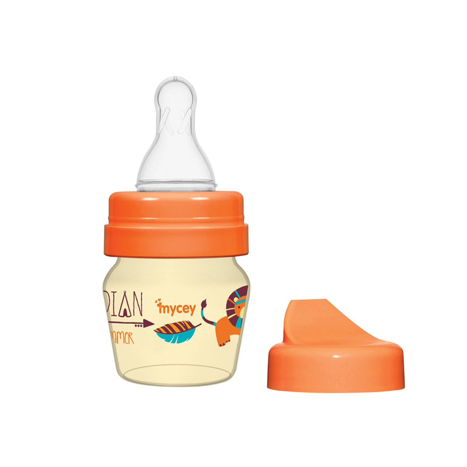 Ebebek Mycey Mini Bunny&Indian Baby Training Glass