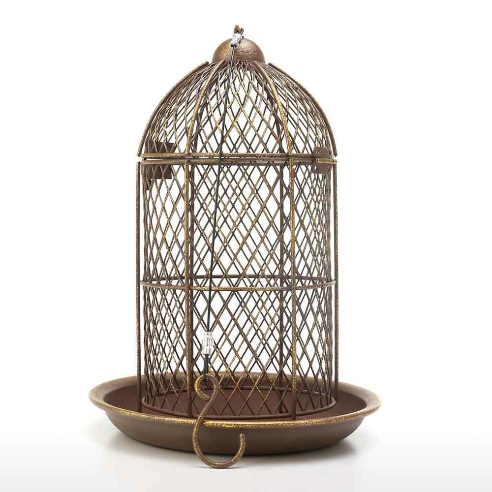Tooarts Vogel Feeder Vogelkooi Feeder Opknoping Wilde Vogel Huis Metalen Feeder Tuin Achtertuin Decoratie Vogelkooi Accessoire Gift Bird Feeding Aliexpress
