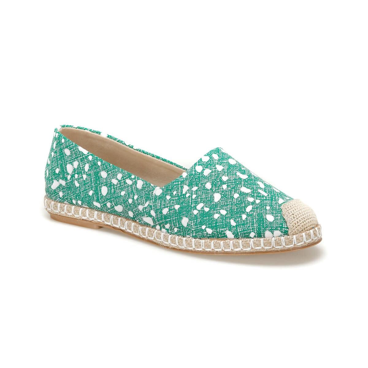 FLO MIROS59Z Green Women Espadril Shoes BUTIGO
