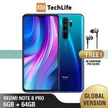グローバルバージョンxiaomi redmi注8プロ64ギガバイトrom 6 1gbのram (真新しい/密封された) 注8プロ、note8pro、note8スマートフォン携帯
