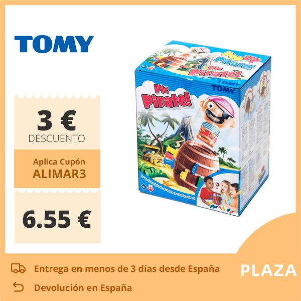 Tomy Pop Up Pirate Fun Game On Table With Kid Lucky Stab Gadget Cube Pirate Toys Birthday Party Game Children 4+ Years Family