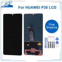 Best OEM For HUAWEI P30 6.1'' AMOLED Touch Screen Digitizer Display For Huawei P30 Screen Replacement Frame Or Not With Gift