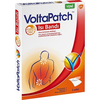 Voltapatch Heat Band pain relief Orthopedic plaster pain relief patch plaster back pain muscle rheumatic arthritis 16pcs 2bags pain relief patch neck muscle orthopedic plasters ointment joints orthopedic medical plaster sticker a098