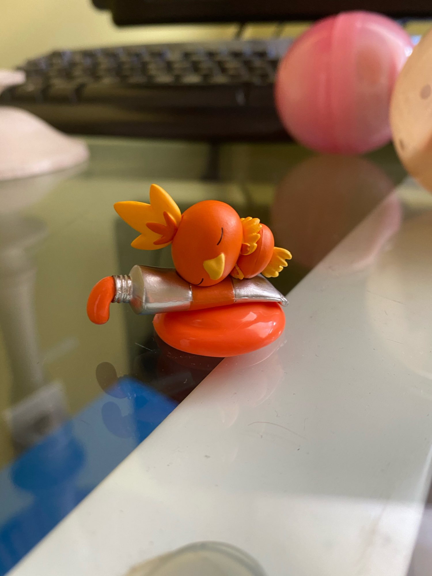 Pokemon Palette Riolu Squirtle Charmander Tangela Gengar Venusaur Chikorita Figure Action figure model toys for children photo review